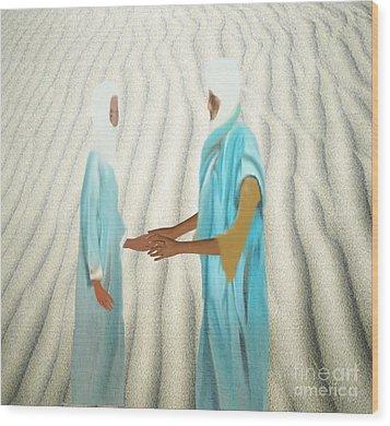 Proposal Wood Print by Belinda Threeths