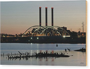 Providence Harbor IIi Wood Print by David Gordon