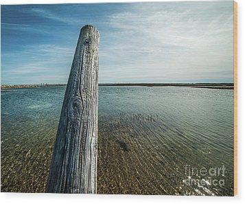 Provincetown Breakwater #2 Wood Print