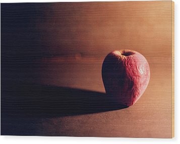 Pruned Apple Still Life Wood Print by Michelle Calkins