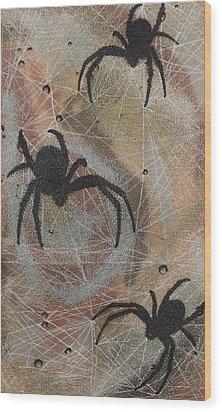 Psychomania Wood Print by Arnuda