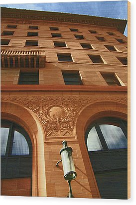 Pueblo Downtown Thatcher Building 2 Wood Print