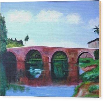Puente Yayabo Wood Print