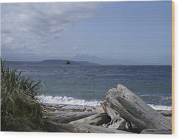 Puget Sound Wood Print