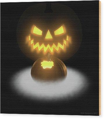 Pumpkin And Co II Wood Print