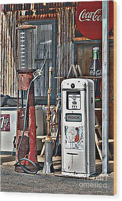 Wood Print featuring the photograph Pumps by Lee Craig