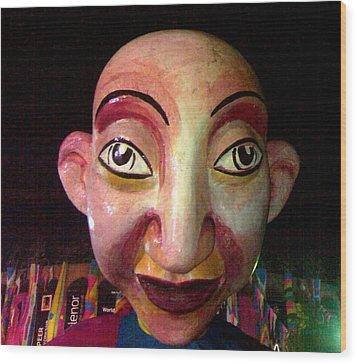 Puppet Kushi Mohamad Wood Print