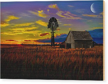 Pure Country Wood Print by Gary Smith