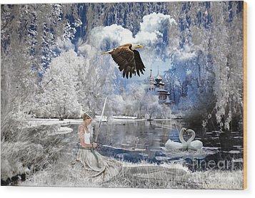 Pure Hearted Warrior Wood Print