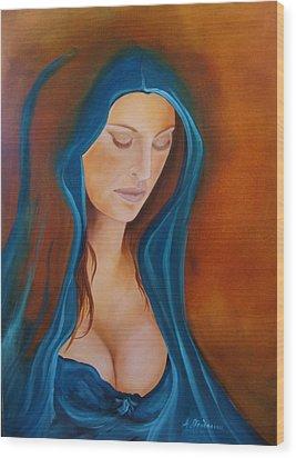 Purity And Sin Wood Print by Antonios Theodosiou