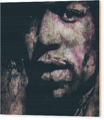Purple Haze Wood Print by Paul Lovering