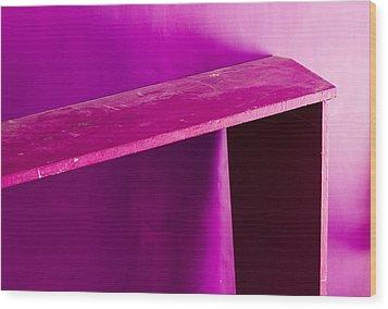 Purple Passion Wood Print by Prakash Ghai