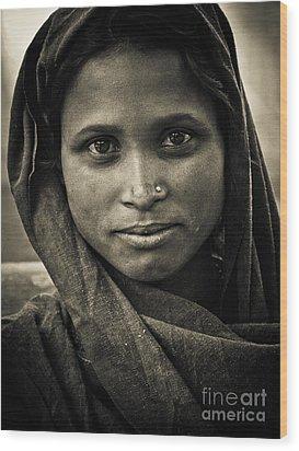 pushkar girl II Wood Print