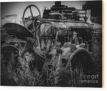 Put Out To Pasture  Wood Print by JRP Photography