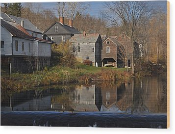 The Wikipedia Photo Of Putney Vt Wood Print
