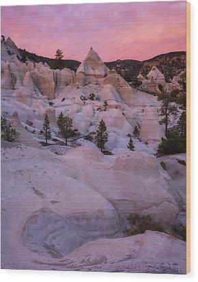 Pyramids  Wood Print by Dustin LeFevre