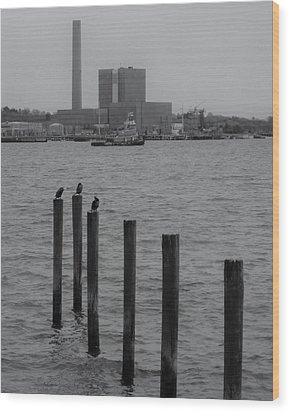 Q. River Wood Print