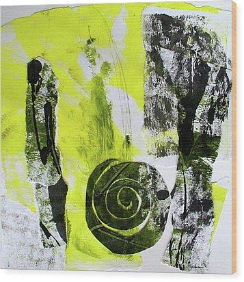 Quarto IIi Wood Print by Mary Sullivan
