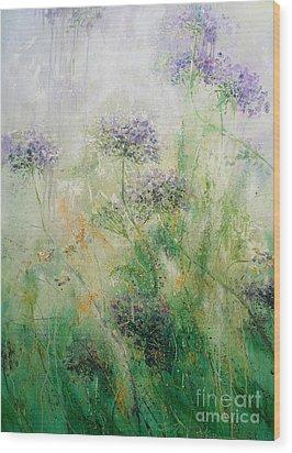 Queen Ann's Lace Wood Print