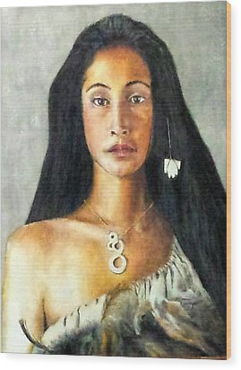Queen Gassulawiya  Wood Print