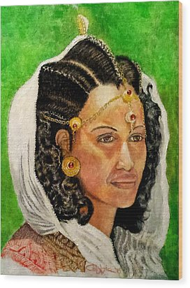 Queen Hephzibah  Wood Print