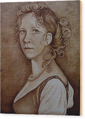 Queen Of Prussia Wood Print by Jo Schwartz