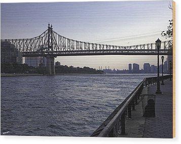 Queensboro Bridge - Manhattan Wood Print
