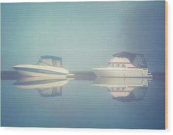 Wood Print featuring the photograph Quiet Morning by Ari Salmela
