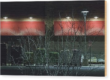 Quiet Night - Wood Print