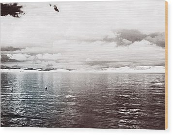 Wood Print featuring the photograph Quiet Waters by Keith Elliott