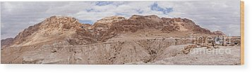 Qumran National Park Wood Print by Yoel Koskas