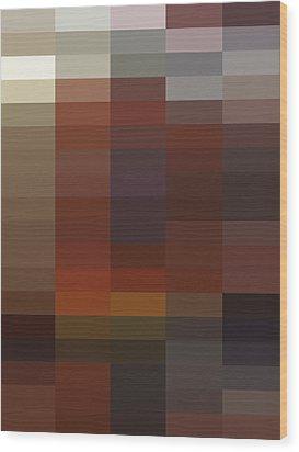 R - Context Series - Limited Run Wood Print by Lars B Amble
