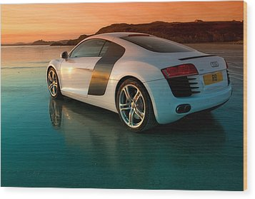R8 On The Beach 2 Wood Print by Rory Trappe