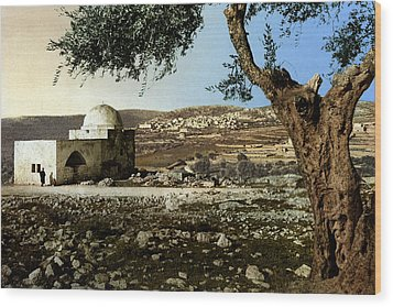 Rachel Tomb In Bethlehem Wood Print by Munir Alawi