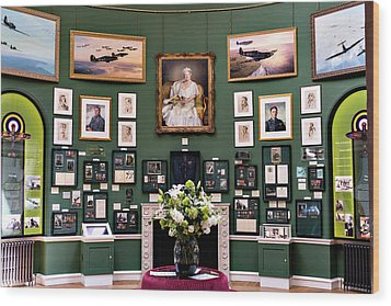 Raf Bentley Priory Wood Print by Alan Toepfer
