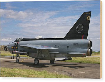 Raf English Electric Lightning F6 Wood Print
