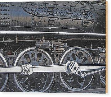Railroad Museum 2 Wood Print by Steve Ohlsen