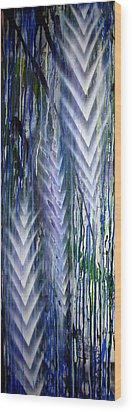 Rain 2 Wood Print by Leigh Odom