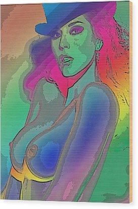 Rainbow 4 Wood Print by Tbone Oliver