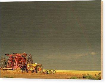 Rainbow Harvest.. Wood Print by Al  Swasey