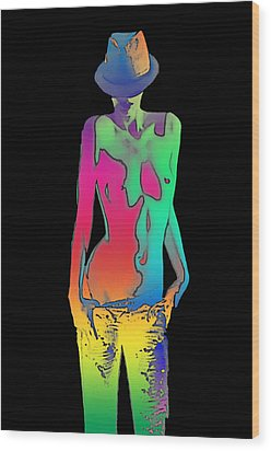 Rainbow Series Wood Print by Tbone Oliver