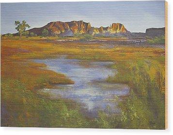 Rainbow Valley Northern Territory Australia Wood Print