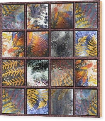 Rainforest Remnants Wood Print by Sarah King