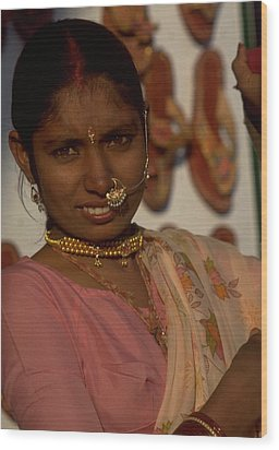Wood Print featuring the photograph Rajasthan by Travel Pics
