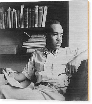 Ralph Ellison 1914-1994, Author Wood Print by Everett