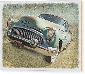 Randsburg Buick Wood Print