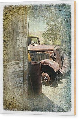 Randsburg Truck 3 Wood Print