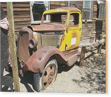 Randsburg Truck  Wood Print