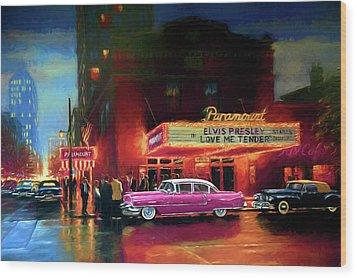 Randy R's Love Me Tender Wood Print