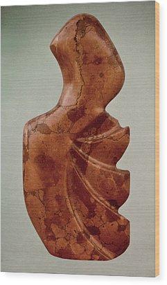 Rapa Nua Wood Print by Lonnie Tapia